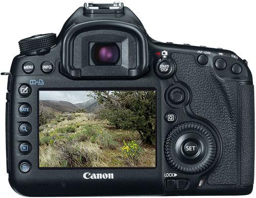Canon 5D Mk III - rear