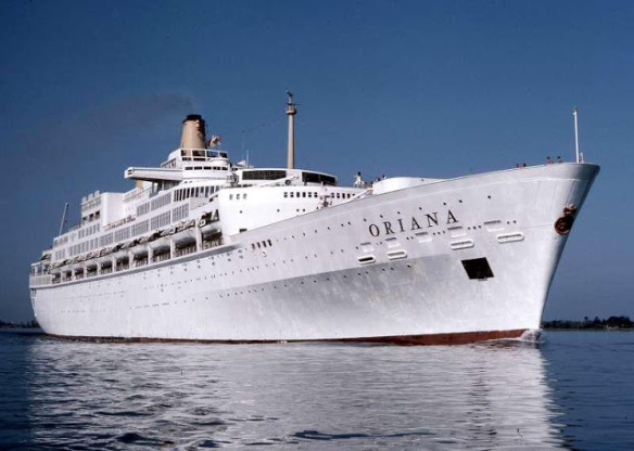 SS Oriana the P&O cruise ship that brought us together