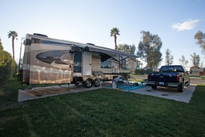 Our Redwood 36FL and Ford F350