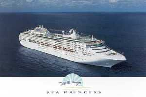 Sea Princess Our home for a 3 month world cruise