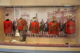 RCMP Uniforms through the years
