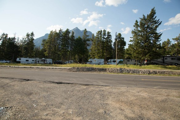 Tunnel Mountain Trailer Courts satellite friendly sites