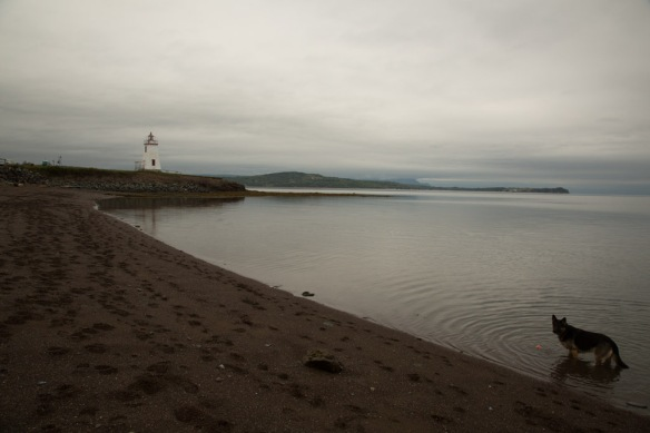 Inch Arran Lighthouse and Chaleur Bay