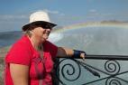 Judi and the rainbow smile