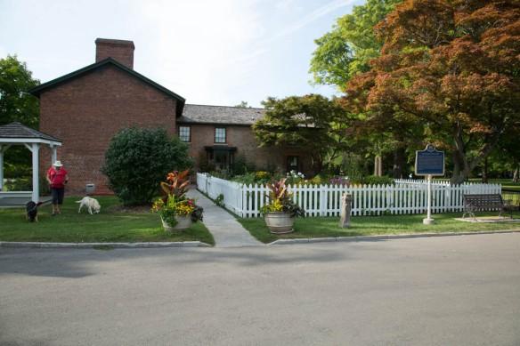 McFarlane House & garden