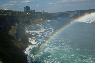 Rainbow Bridge and rainbow