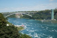 Rainbow Bridge and US observation platform