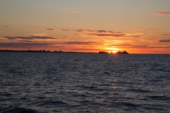Sunset over Lake Ontario 4