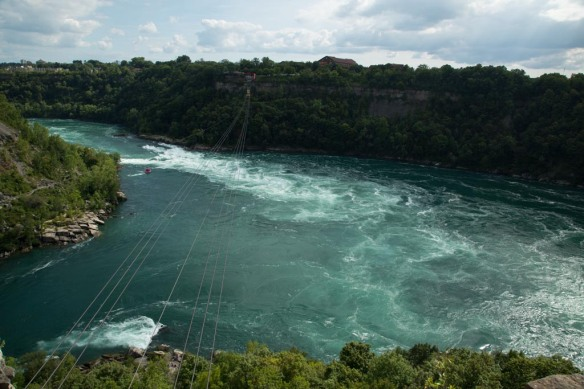 Thompsons Point - Niagara Whirlpool and Aero Car across the river