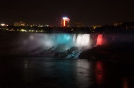 US Falls at night 2