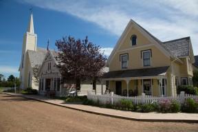 Avonlea Village church street