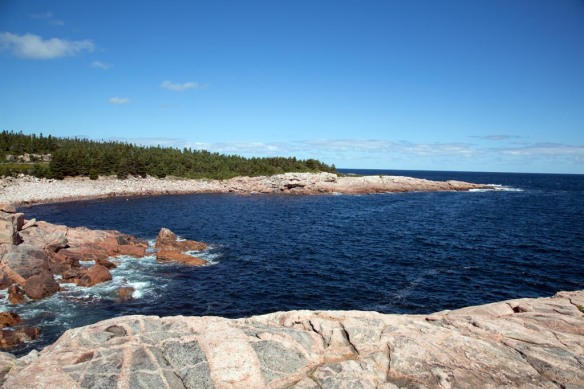 Black Brook Cove coastline