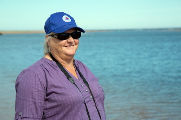 Judi at Tracadie Beach