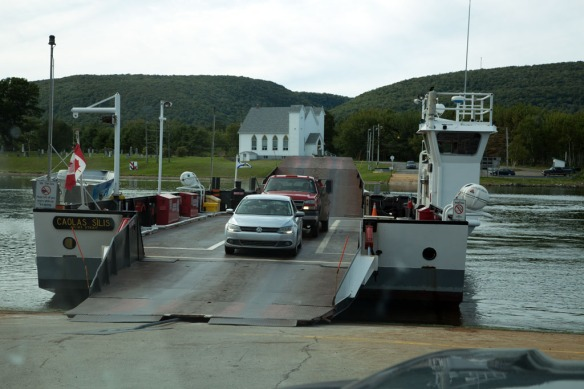 Little Narrows cable ferry