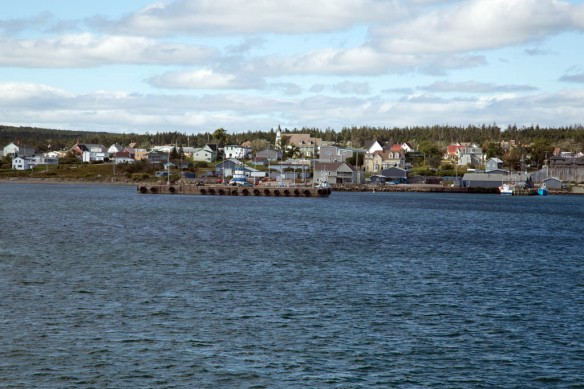Louisbourg and harbour pier
