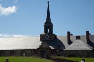 Louisbourg church close up