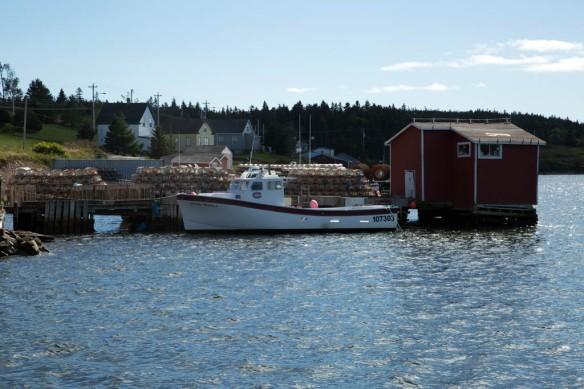 Louisbourg fishing vessel