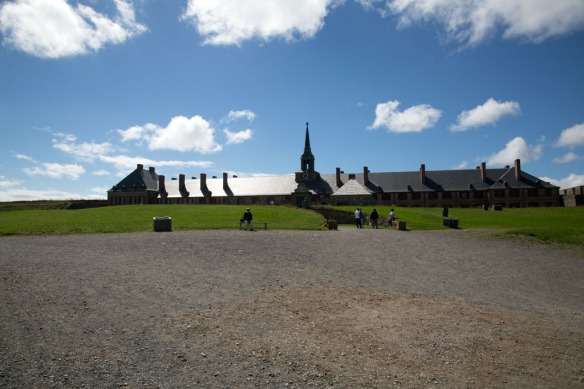 Louisbourg fortress church