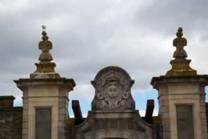 Louisbourg Fortress drawbridge gate