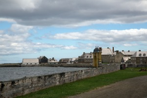 Louisbourg Fortress water side