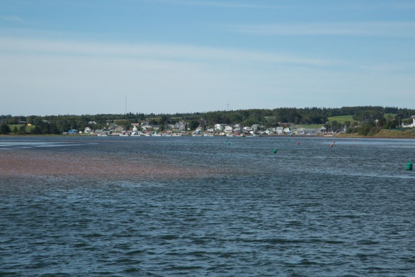 North Rustico from the harbour