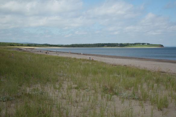 Pomquet Provincial Park Beach fine sand and dunes