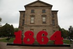 Province House and 150th Anniversary sign