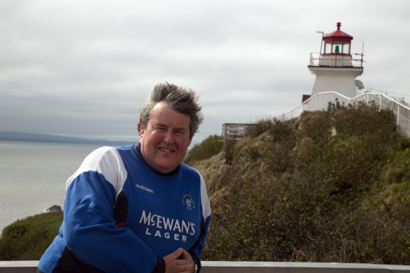 Andy at Cape Enrage Lighthouse