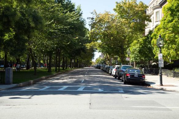 Boston Common and Commonwealth Ave Boston