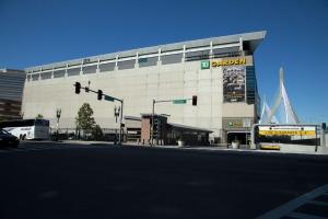 Boston Gardens hockey rink