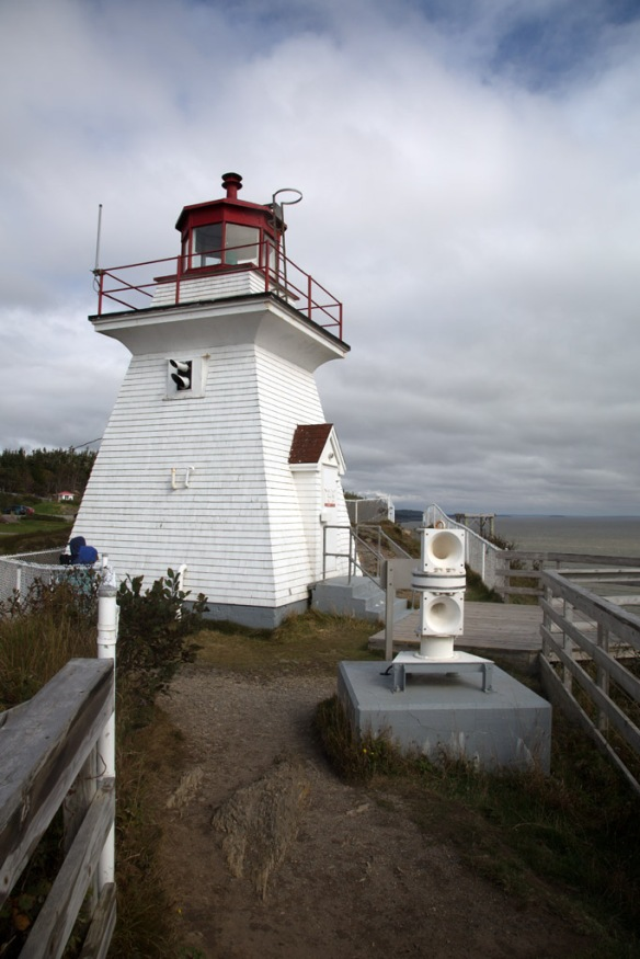 Cape Enrage Lighthouse and fog horn