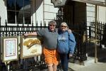 Cheers bar Andy & Judi at the entrance