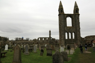 15 St Andrews Cathedral and graveyard