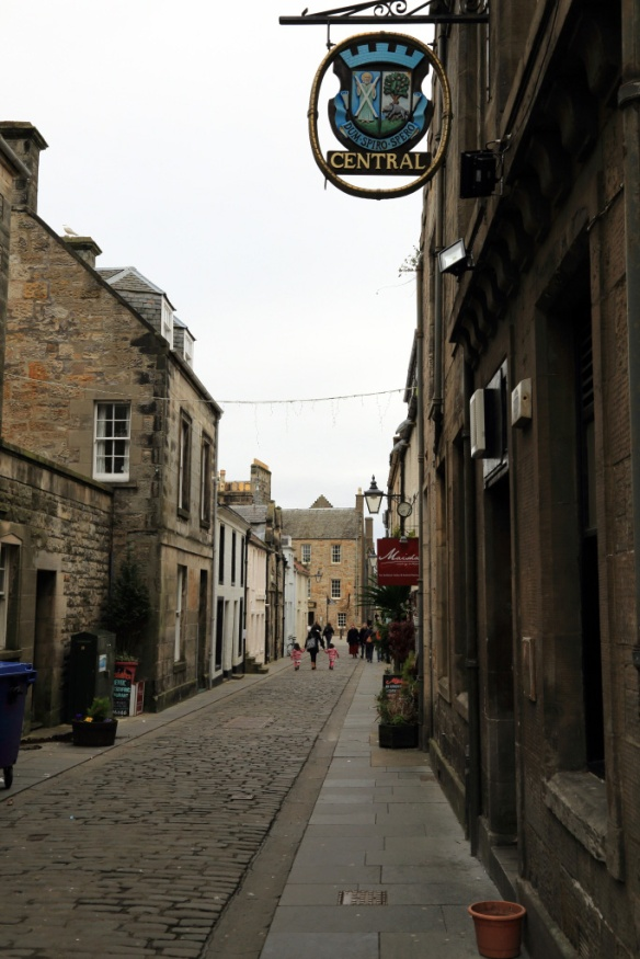 Traditional Side Street in St Andrews