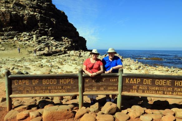 Andy & Judi at Cape of Good Hope