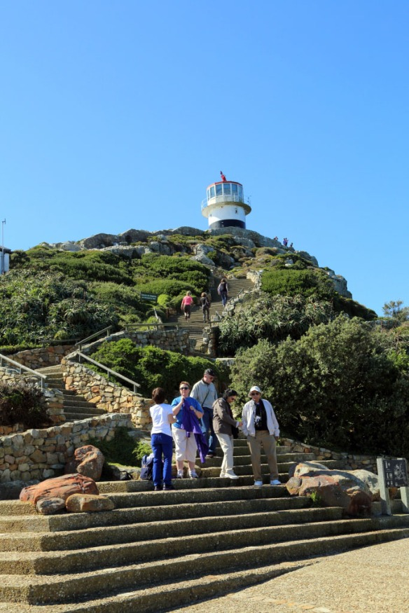 100+ stairs to reach the spectacular views from the lighthouse