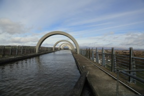 Falkirk wheel aquaduct