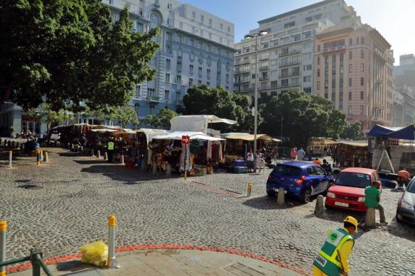 Green market square curio stalls 2