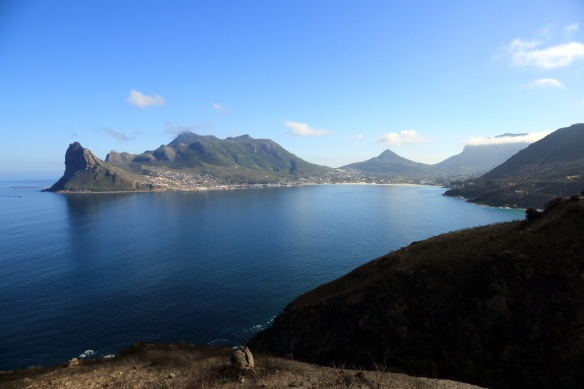 Hout Bay from Chapman's Peak Drive lookout