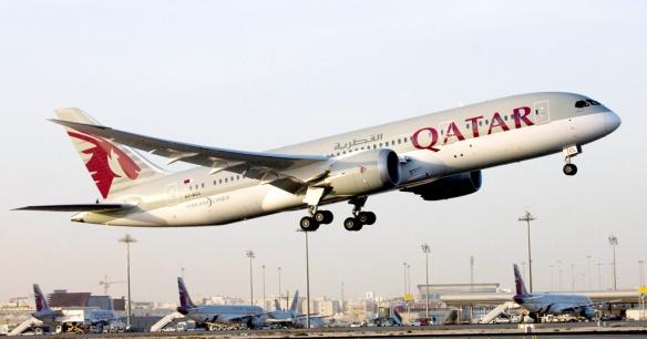 Qatar B-787 Dreamliner