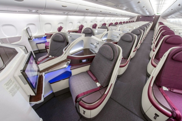 Qatar business seats