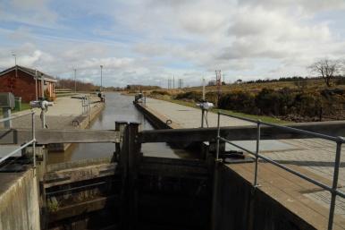 Union Canal lock