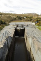 Union Canal lower lock gate