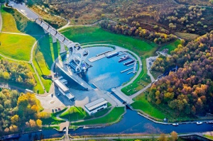 Courtesy of Falkirk Wheel Website