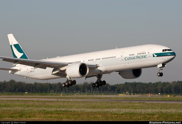Cathay Pacific B777-300