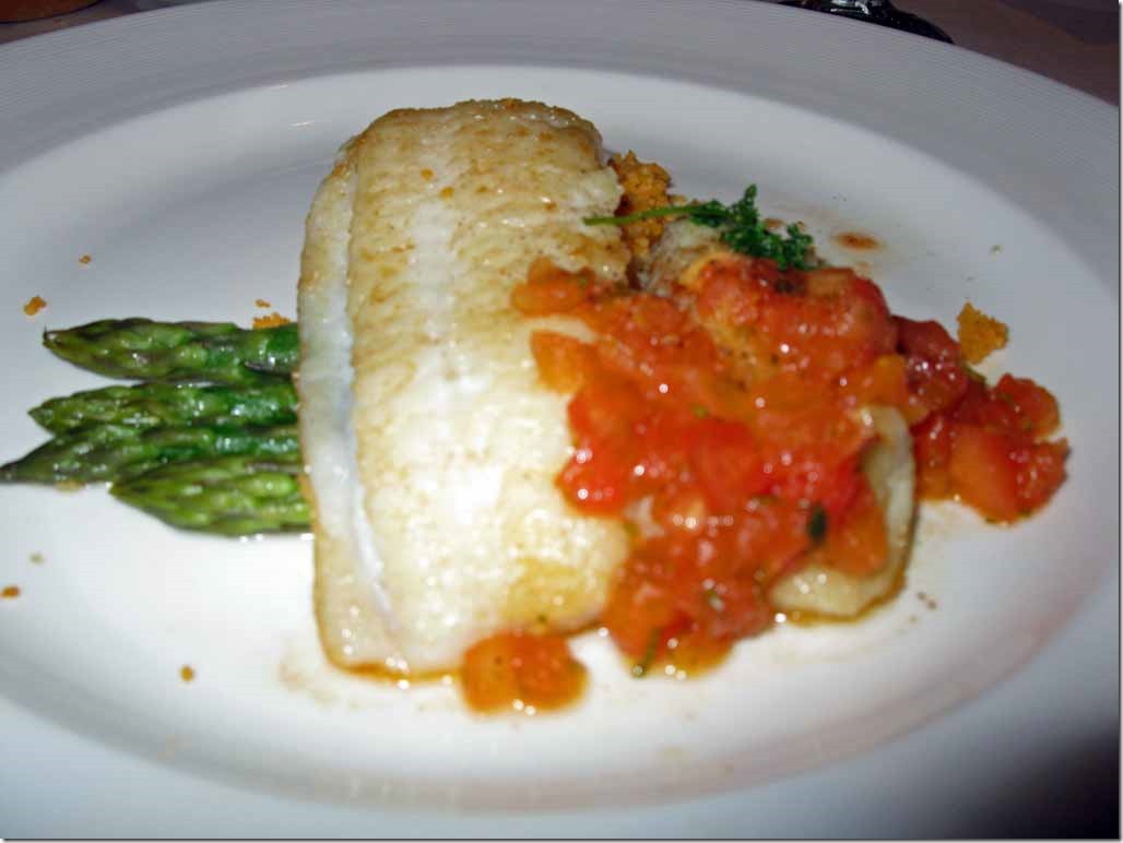 BakedSea Bass for dinner