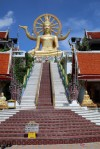 Big Buddha and stairs