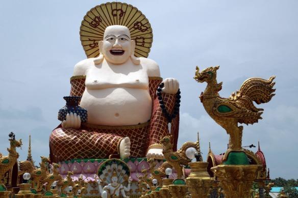 Big statue at Temple