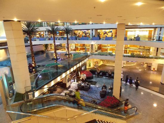 Regal hotel lobby