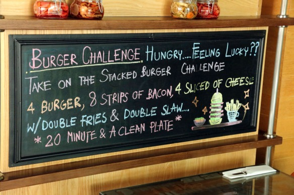 Stacked Restaurant burger challenge